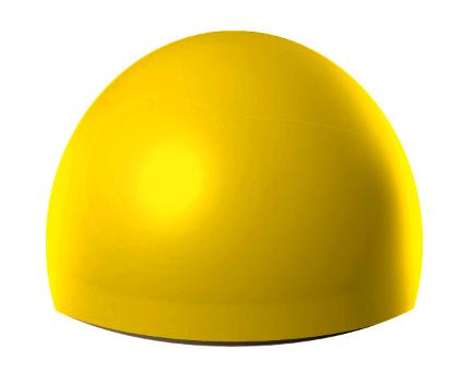 Бетонная полусфера 400х300