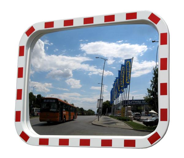 Зеркало  прямоугольное с окантовкой 600ммх800мм